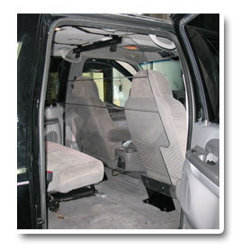 Clearview Partitions SUV cargo barrier partitions aand bulkheads